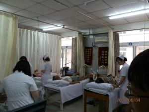 4.6.2013 hoitajia työssään